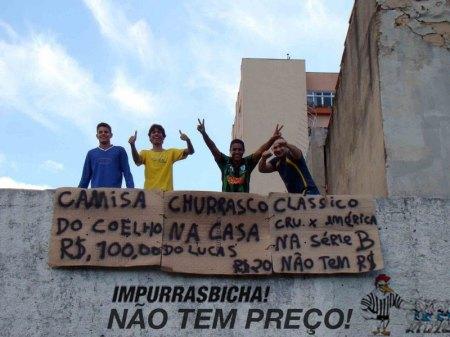 América x Marias no Brasileirão 2010, não tem preço.