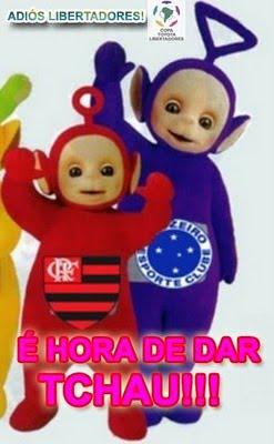Cruzeiro fora libertadores