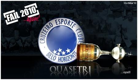 Cruzeiro perde libertadores 2010