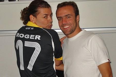 Roger e Davi Brasil são amigas