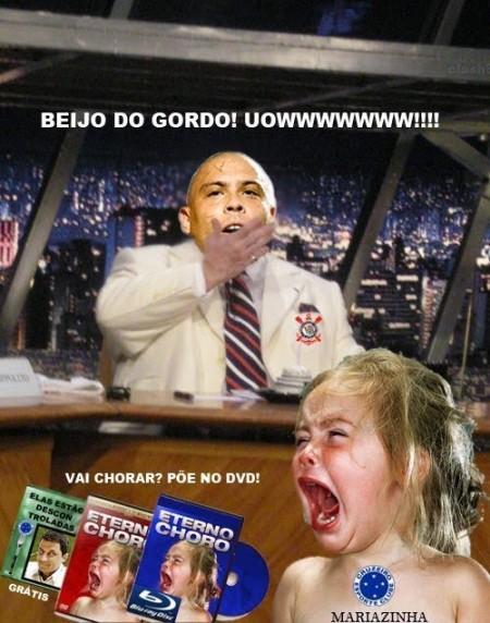 Ronaldo acaba com o Cruzeiro