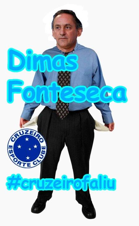 Dimas Fonteseca e o Futebol do Cruzeiro decreta falência
