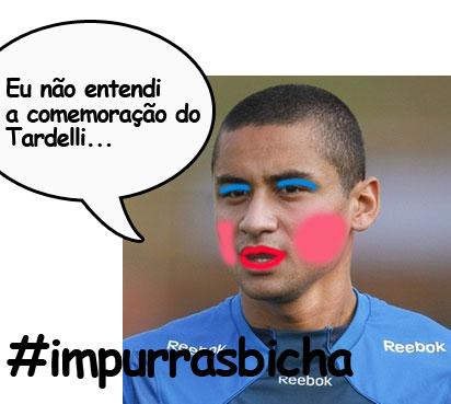 Comemoração do Tardelli irrita Wellington Maquiado Paulista