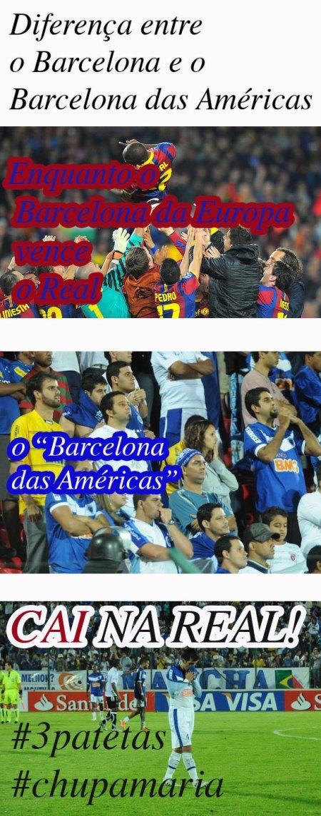 Cruzeiro é chamado de Barcelona das Américas, mas caiu na real e deixou a libertadores