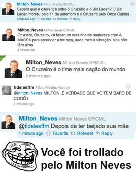 Mariazinha toma um fatality na cara do Milton Neves!!!