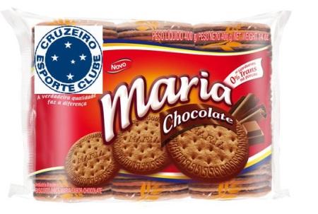 Novo sabor do biscoito Maria chocolate é uma homenagem à goleada sofrida pelo cruzeiro